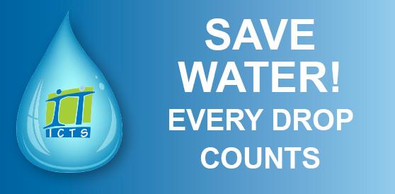 Water saving at ICTS