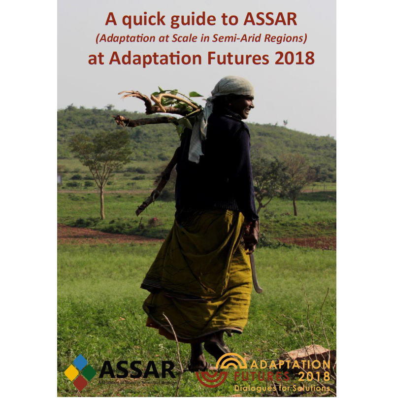 A quick guide to ASSAR at Adaptation Futures
