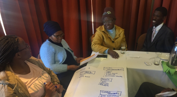 Identifying stakeholders and vulnerabilities in Botswana's Mahalapye sub-district