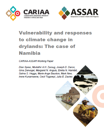 Vulnerability and responses to climate change in drylands: The case of Namibia