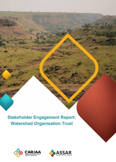 Stakeholder Engagement Report: Watershed Organisation Trust