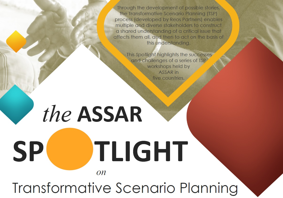 ASSAR Spotlight on Transformative Scenario Planning