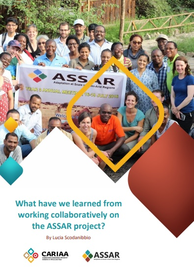 What have we learned from working collaboratively on the ASSAR project?
