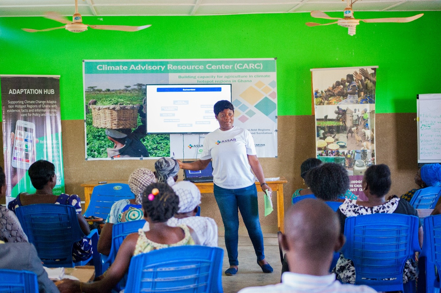 Promoting climate justice and adaptation in semi-arid Ghana