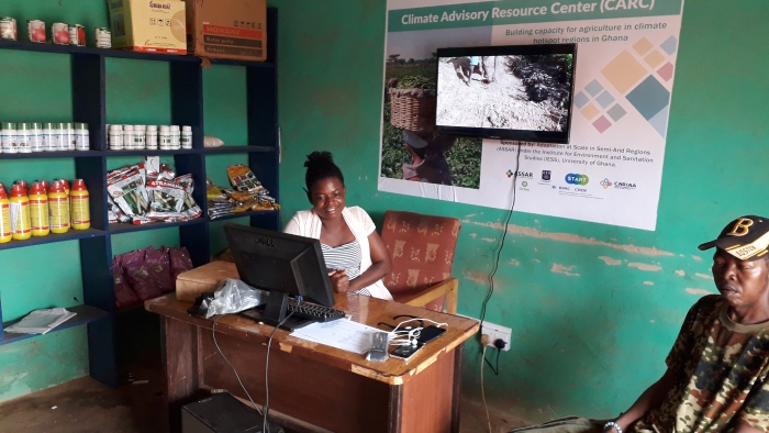 ASSAR supports dry season agriculture in semi-arid Ghana with Climate Advisory Resource Centres