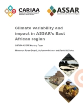 Climate variability and impact in ASSAR's East African region