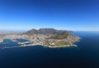 View of Cape Town from the air