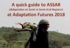 A quick guide to ASSAR at Adaptation Futures 2018